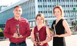 Более 200выпускников в2017 году окончили ТУСУР скрасным дипломом